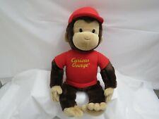 Curious George Gund Plush Stuffed Animal Soft 17 Inches Tv Cartoon Character