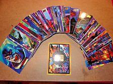 1994 Marvel Masterpieces GOLD FOIL SIGNATURE Complete set