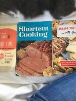 Vtg Cook Book Pamphlets Lot Of 3 Betty Crocker RCA 1969 Shortcuts Bread