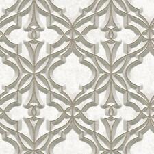 Rasch Piedra Papel Pintado Damasco Efecto Imitación 3d Motivo Realista Metálico