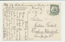 "Allemand SOUTH WEST AFRIQUE 1908 Carte "" AM kiriis' Fluss "" Windhuk à Hambourg ("