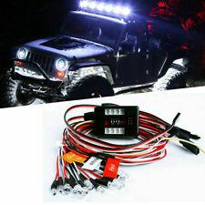 12 LED Brake+Headlight+Signal Light Kit 2.4ghz PPM FM for HSP 1/10 RC Car Truck