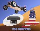 Front Bumper Anti-Collision Plastic WLtoys 144001 124019 - 1257 RC Car Parts