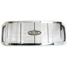 NEW CHROME GRILLE FITS FORD F-250 F-350 F-450 F-550 SUPER DUTY FO1200459
