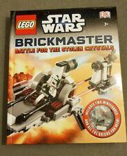 BN Lego Starwars Brickmaster Battle For The Stolen Crystals Book & Lego