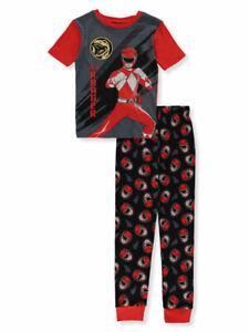 Power Rangers Boys' Red Ranger 2-Piece Pajamas