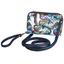 Buxton Butterfly RFID Clutch/Crossbody Bag, Multi