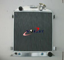 3 core Aluminum Radiator for FORD Hi-Boy Chevy engine hotrod 1932 32