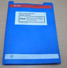 VW Passat B5 Automatisches Getriebe 01V 5 Gang  Werkstatthandbuch Leitfaden