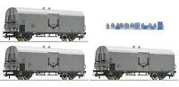 """Roco H0 67118 Güterwagen-Set """"Milchzug"""" der ÖBB """"Neuheit 2019"""" - NEU + OVP"""