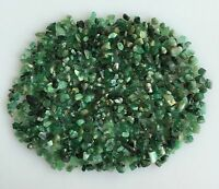 Natural Emerald Raw Rough 100 ct Green Loose Gemstone Lot Mineral