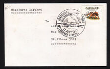 Souvenir Cover: 1981 Inaugural Airbus Flight Mel To Syd Melbourne Airport.