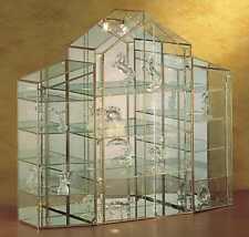 VITRINE für Sammler, Glasvitrine, Figuren, Schaukasten