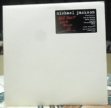 """Michael Jackson """"They Don't Care About Us"""" Special Promo-Only Double Vinyl NM"""