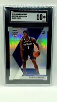 2019-20 Mosaic Zion Williamson Silver Prizm Rookie Card RC #209 SGC 10 Gem Mint