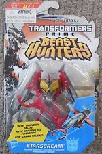 Transformers Prime Beast Hunters STARSCREAM Hasbro Figure Moc New