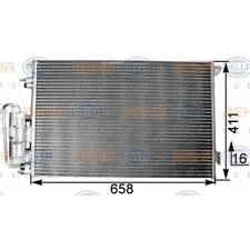 ORIGINAL HELLA Klimaanlage Kondensator Opel Vectra C Bj.02- 8FC351300-301