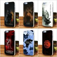 Blood Game of thrones Rigid Plastic Cover Case for iPhone Samsung Galaxy Huawei