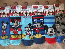 Disney childrens Mickey Mouse socks, 3 sizes 3-5.5,6-8.5,9-12