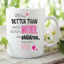 Mieux Mother Enfants Nana Love Tasse De mère Jour Cadeau Travail café WSDMUG357