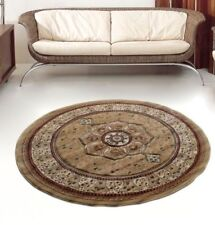 Traditional Persian DESIGN ROUND Rug  COLOUR BEIGE SIZE  150x150cm NOW ON SALE