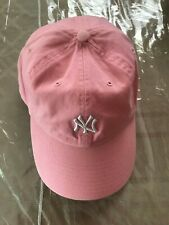 Vintage Pink NY Yankees Baseball Cap Twin Enterprise