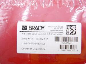 Brady 64057 Cell 221 Adjust. Gate Valve