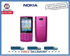 Brand New Nokia X3-02 Pink Touch & Type 3G Unlocked Mobile Phone 1 Year Warranty