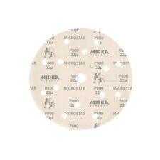 "MIRKA ABRASIVES FM-622-800 - 6"" MICROSTAR GRIP DISC P800"