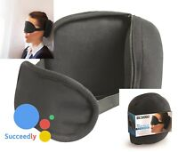 2 in 1 Travel Pillow & Eye Mask Small Fly with Comfort Travel Pillow Eye Mask