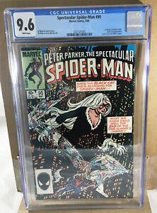 Marvel Peter Parker Spectacular Spider-Man #90 Comic 1st Black Suit App CGC 9.6