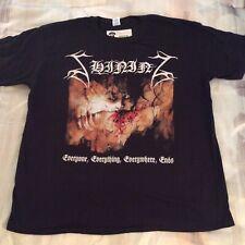 SHINING Everyone, Everything Shirt XL,Gorgoroth, The Chasm, Inquisition, Azarath