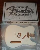 Fender® MIM Telecaster Olympic White Alder Body~Gloss Poly~0998006705~Brand New