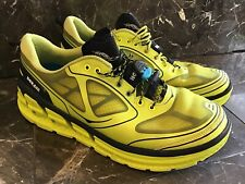 Hoka One One Conquest Mens Sz 10 Neon Running Walking Shoes Pre Owned