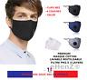 2 MASQUES LAVABLE PROTECTION COTTON  + 10 FILTRES CARBON ACTIVE PM2.5   STOCK FR