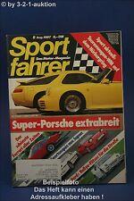 Sportfahrer 8/87 Strosek 928 S4 S Toyota 2000 GT RX 7 T