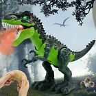 Remote Control T-Rex Dinosaur Toys with Flame Spaying Walking&Roaring Kids Gift