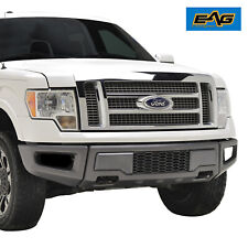 EAG Raptor Style Front Bumper Charcoal Gray with Grille Fit 2009-2014 Ford F-150