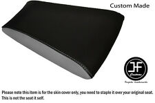 GREY AND BLACK AUTOMOTIVE VINYL CUSTOM FOR RIEJU RS3 125 REAR SEAT COVER ONLY