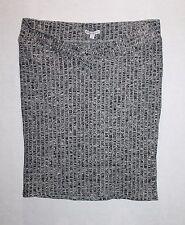 TARGET Brand Grey Stripe Ribbed Knit Skirt Size 10 BNWT #TF56