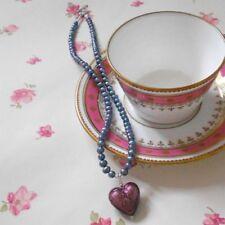 "18 - 19.99"" Amethyst Fine Pearl Necklaces & Pendants"
