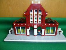LEGO TRAIN TRENO EISENBAHN ZUG CITY STATION STAZIONE 4554 2150 LIKE MOC