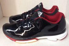 Super RARE Adidas Boost Black Patent Leather (Crazy Light?) Sz 10 US