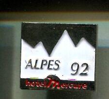 RARE PINS PIN'S .. TOURISME HOTEL ACCOR MERCURE ALPES OLYMPIQUE OLYMPIC 1992 ~CV
