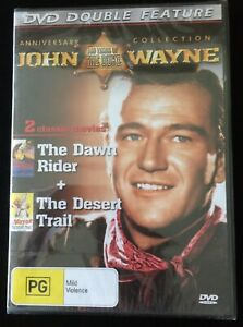 THE DAWN RIDER (1935)  John Wayne THE DESERT TRAIL (1935) DVD