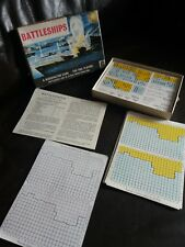 VINTAGE-COLLECTABLE WADDINGTON BATTLESHIP TRAVELLING GAME FOR 2 PLAYERS - 1967