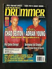 Modern Drummer Magazine  December 1999  Chad Sexton and Adrian Young