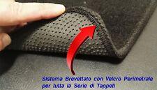 Tappeti tappetini FIAT PANDA 2012> moquette alta qualità,battitacco,con velcro