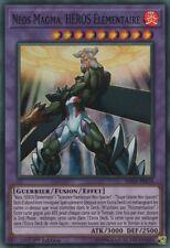 Yu-Gi-Oh! Néos Magma Héros élémentaire  SHVA-FR034 SUPER RARE