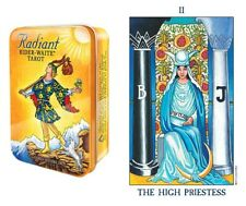 Radiant Rider Waite Pocket Collectible Tin NEW 78 Color cards P. C. Smith images
